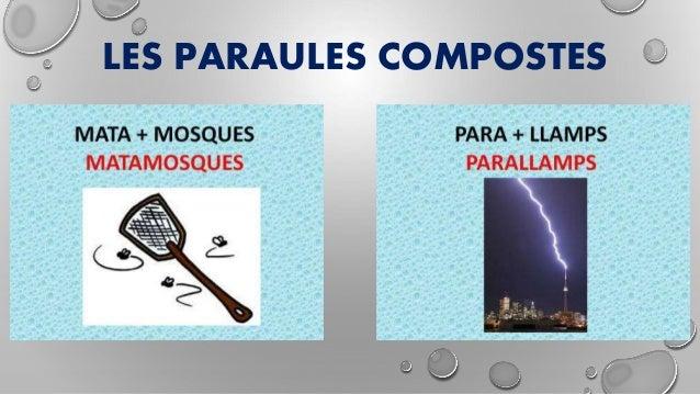 LES PARAULES COMPOSTES