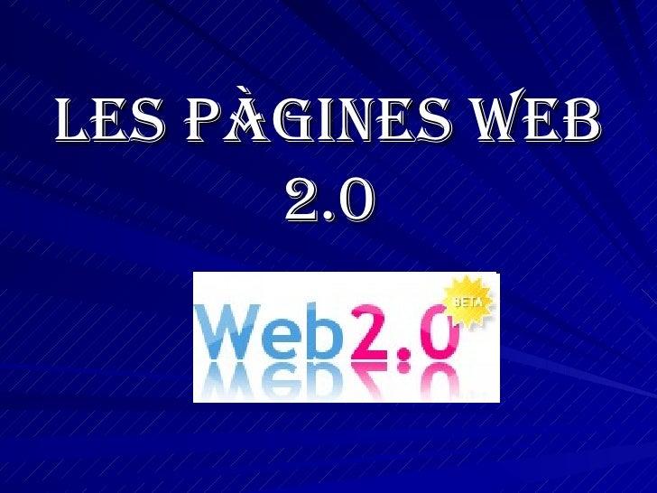 Les pàgines web 2.0