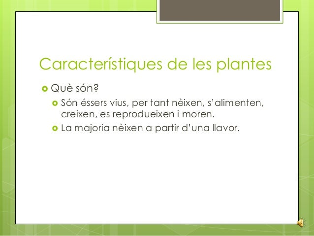 Les plantes final ppt for Les plantes