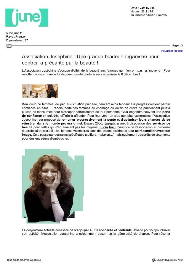 Les Les Parutions Belles Plus Joséphine Plus Hf1wfq5x