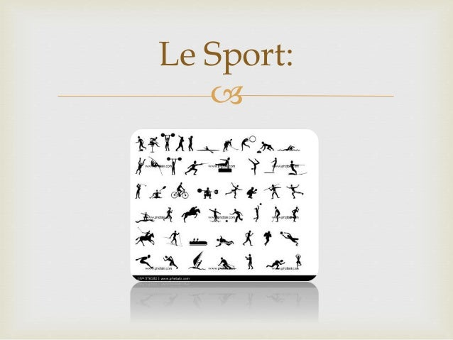  Le Sport:
