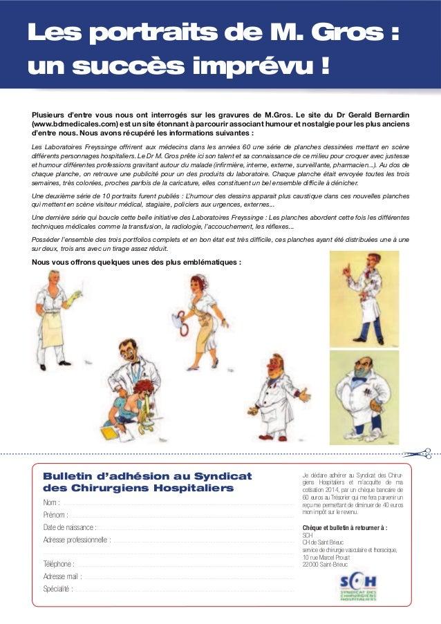 Plusieurs d'entre vous nous ont interrogés sur les gravures de M.Gros. Le site du Dr Gerald Bernardin (www.bdmedicales.com...