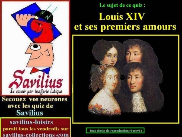 Les premiers amours de Louis xiv