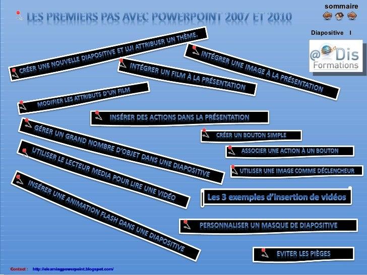 Les premiers pas avec power point 2007 et 2010