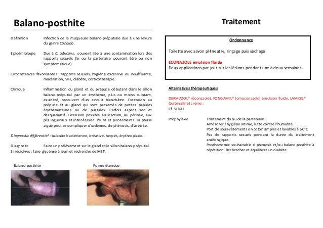 ⓵ Mycose vulvaire antibiotique