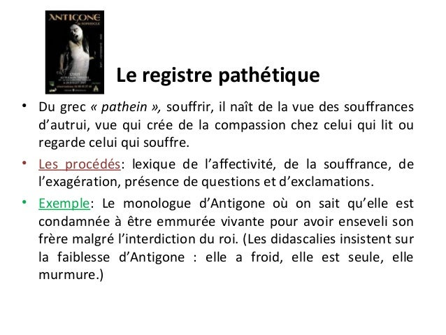 les registres litteraires