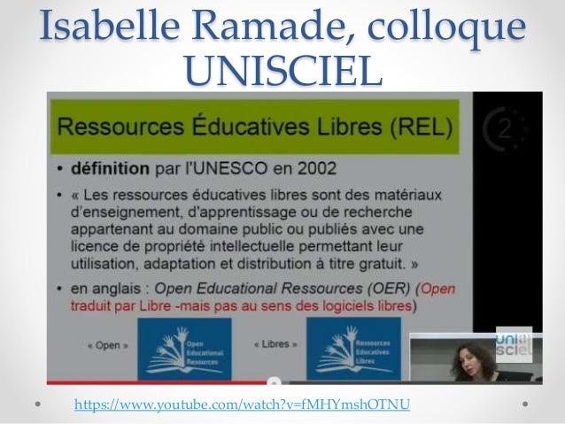 Les Resources éducatives libres Slide 2