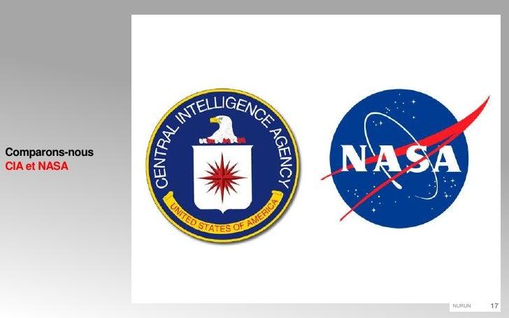 Comparons-nousCIA et NASA<br />