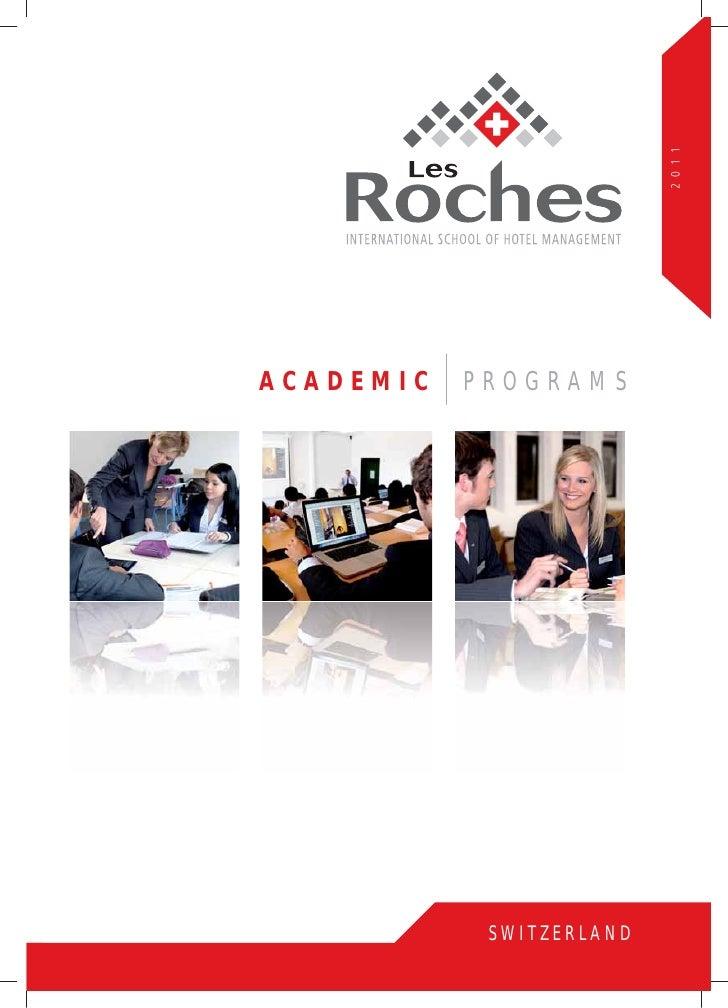 Les Roches Academic Programs