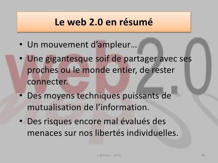 Le web 2.0: relationnel et collaboratif