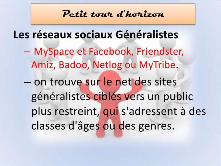 Le web 2.0 en résumé</li></ul>3.. Les réseaux sociaux<br />4.. Facebook<br />5. Twitter<br />6. Savoir gérer son identité<...