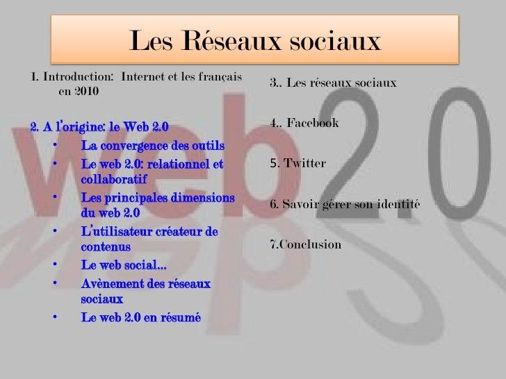 Avènement des réseaux sociaux