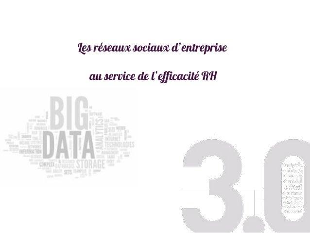 SOMMAIRE  D'Internet au web collaboratif : Big data, Cloud et OpenSource  De l'Intranet aux réseaux sociaux d'entreprise...