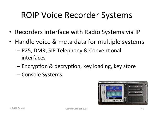 Advanced radio over IP