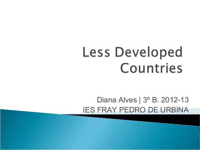 Diana Alves   3º B. 2012-13 IES FRAY PEDRO DE URBINA