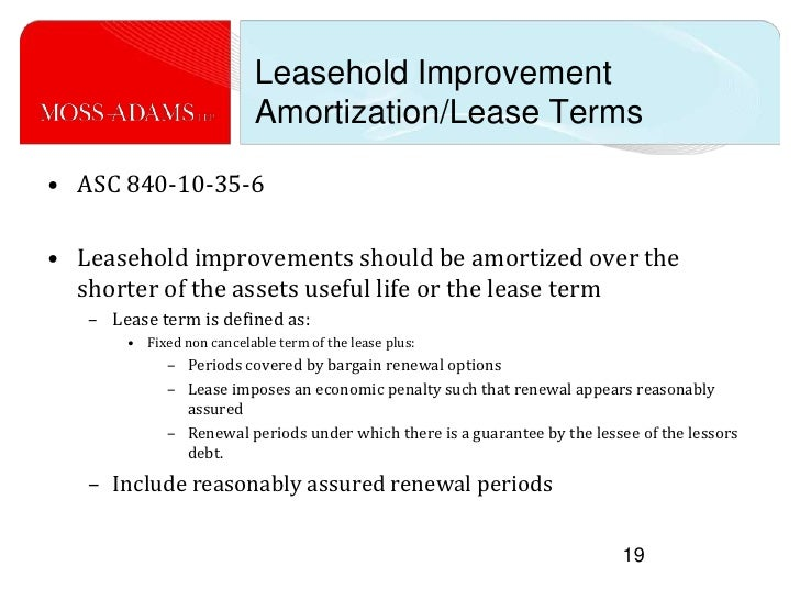 Image Result For Accounting For Tenant Improvements