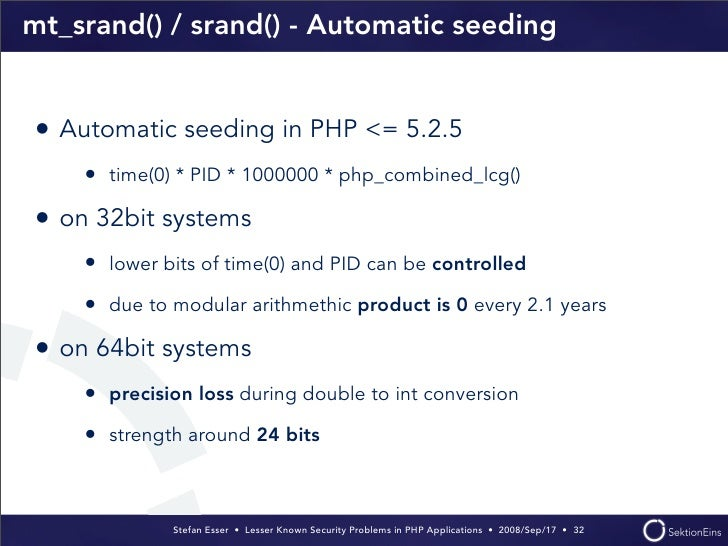 php seed