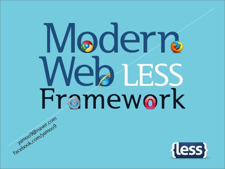 Modern           Web LESS           Framework                 om             er.c 9          nav oo         @ /yam       o...