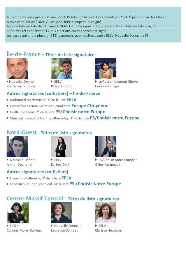 40  candidats  ont  signé  au  21  mai,  dont  19  têtes  de  liste  et  12  candidats  en...
