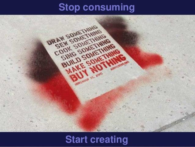 Stop consumingStart creating