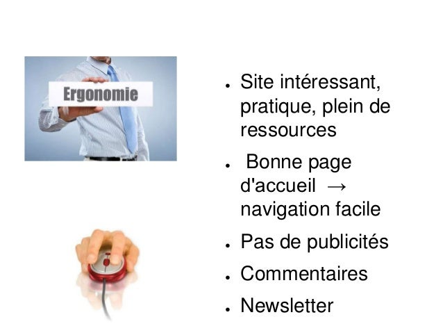 Avis Personnel ● Site utile avec des ressources importantes :) ● Catégories :) ● Recherche de mots clés :(