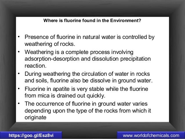 7 Interesting Facts Of Fluorine