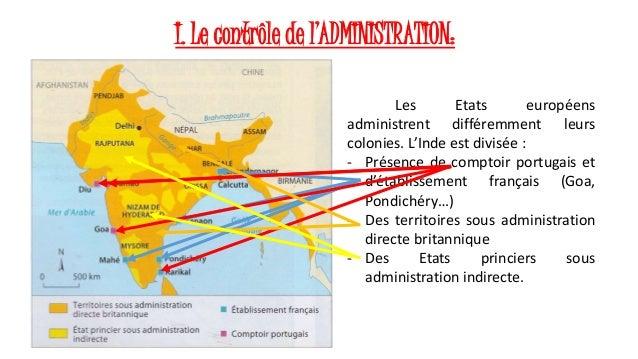 Les soci t s coloniales - Comptoirs francais en inde ...