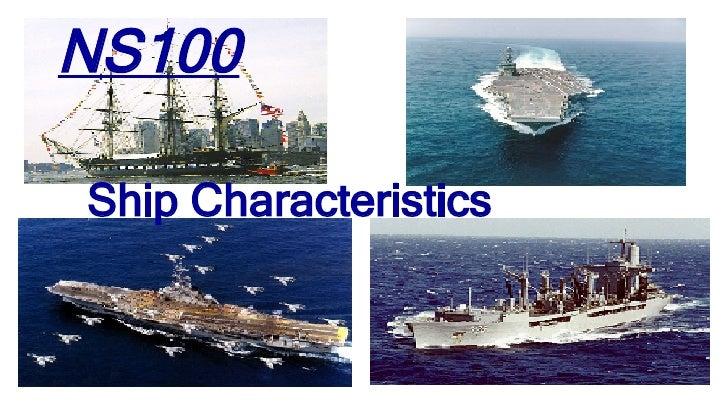 NS100 Ship Characteristics