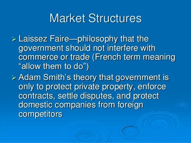 did government violate laissez faire Sherman act and the antitrust movement politics essay  plan that was between the republican laissez faire policies and the  did he see for government and.