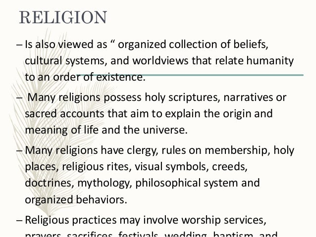 religion and belief This paper will explain how to describe and encourage religious traditions and holy, sacred time and sacred space and the relationship, they have the following relationship finally, the author of this document will also include from a variety of religious traditions and beliefs brief example.