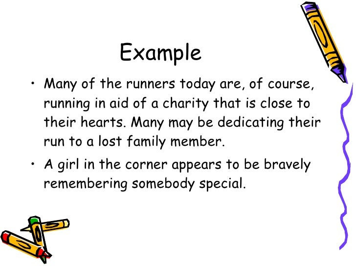 descriptive writing ks football theme example