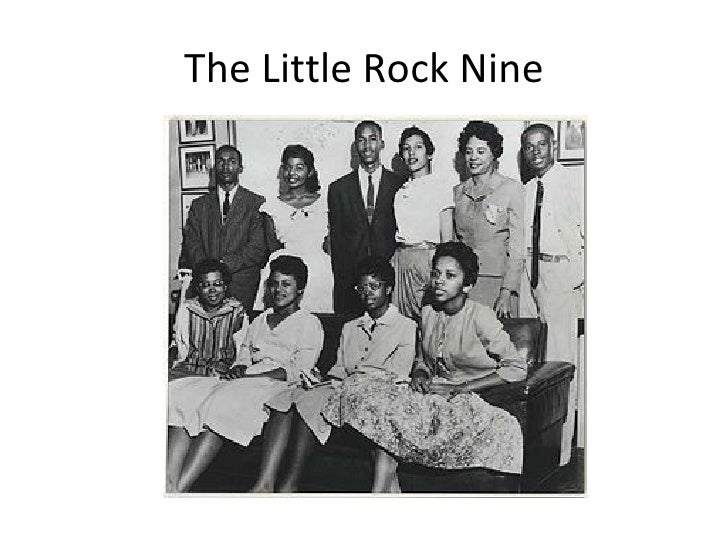 The Little Rock Nine