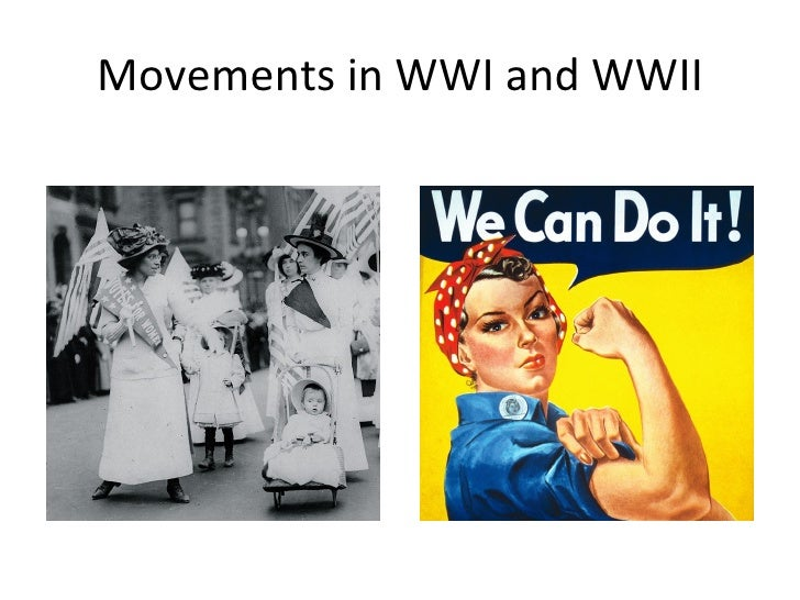 Movements in WWI and WWII