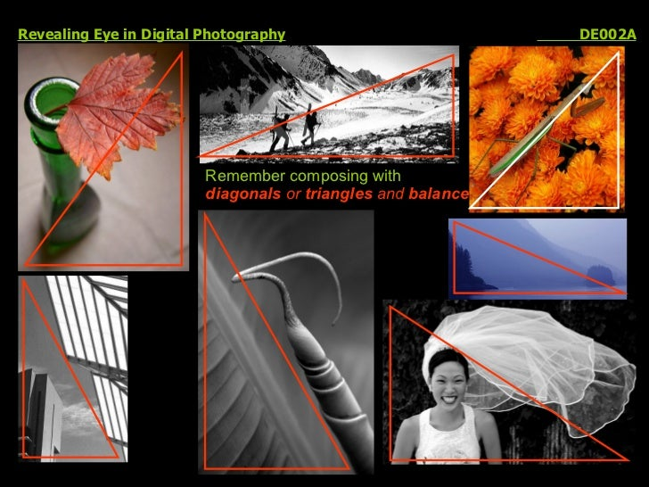 Revealing Eye in Digital Photography   DE002A Remember composing with  diagonals  or  triangles  and  balance