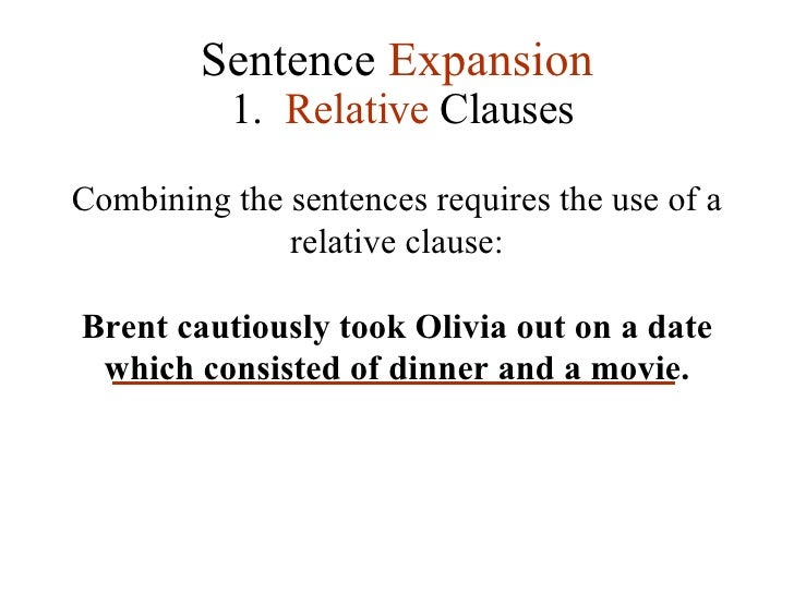 Relative dating used in a sentence