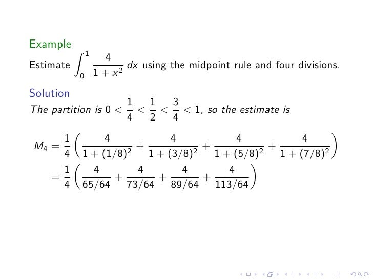 Lesson 30 The Definite Integral