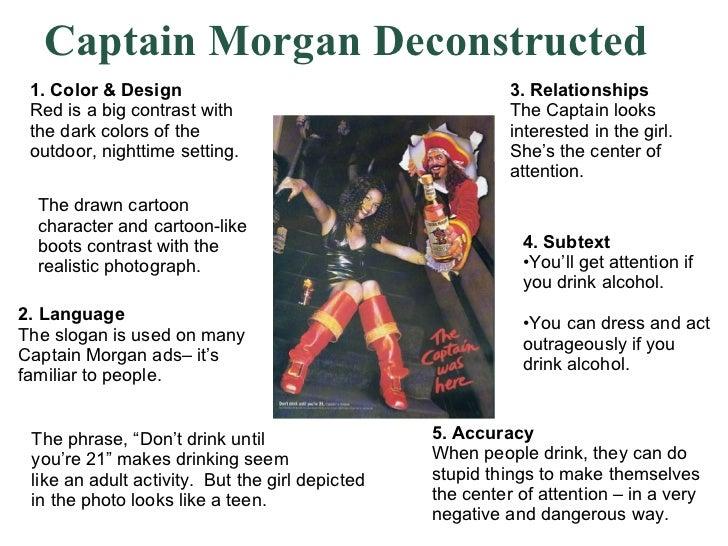 Deconstructing advertisement essay