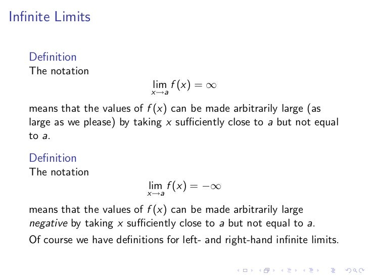 Lesson 4 Limits Involving Infinity – Limits at Infinity Worksheet