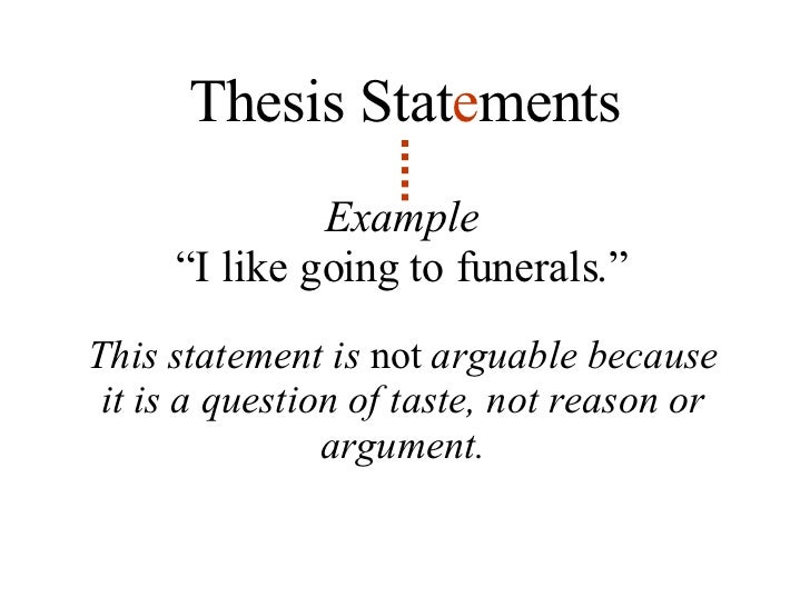 lesson on writing a thesis statement Purpose – the goal of this lesson is to allow students to explore the components of a thesis statement and gain practice in writing these statements objectives.