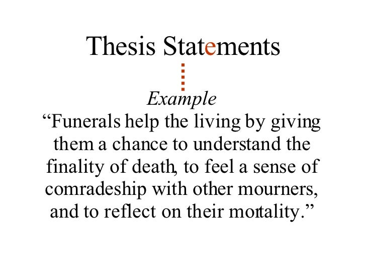thesis statement on life and death Thesis statement on death of a loved one the lived experience of losing a loved one to sudden traumatic death file format: here is an essay i wrote on life.