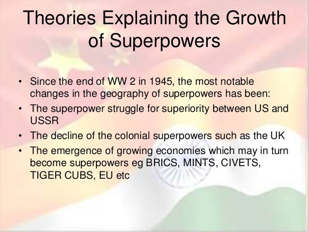 Lesson 6 theories of superpowers