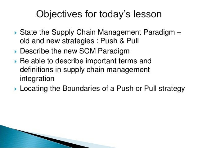 push pull strategy in supply chain management of walmart pictures Some of the other reasons wal-mart may the purpose of supply chain management is to and many furniture manufacturers use push-pull supply chain strategies.