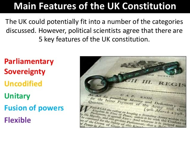 what were the most important features of the constitution