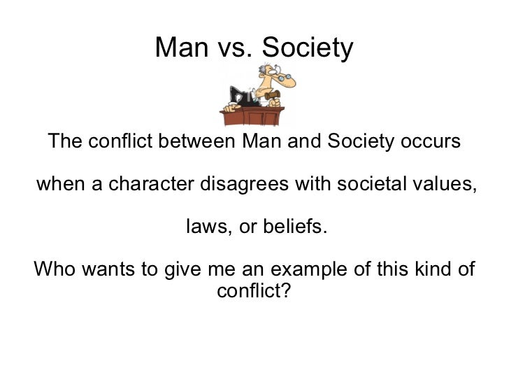 person vs society conflict in 1984 How well did you understand the lesson on the man vs society conflict find out with the multiple-choice questions of this interactive quiz the.