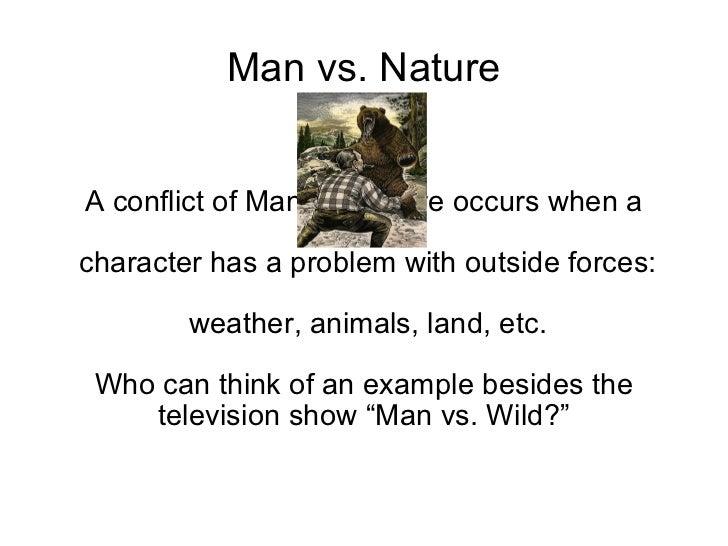 Man Vs Nature Plot