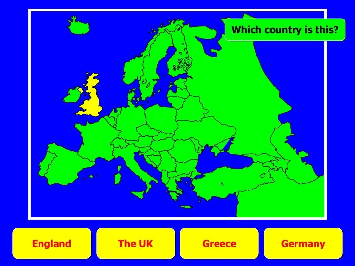 Western Europe: countries quiz