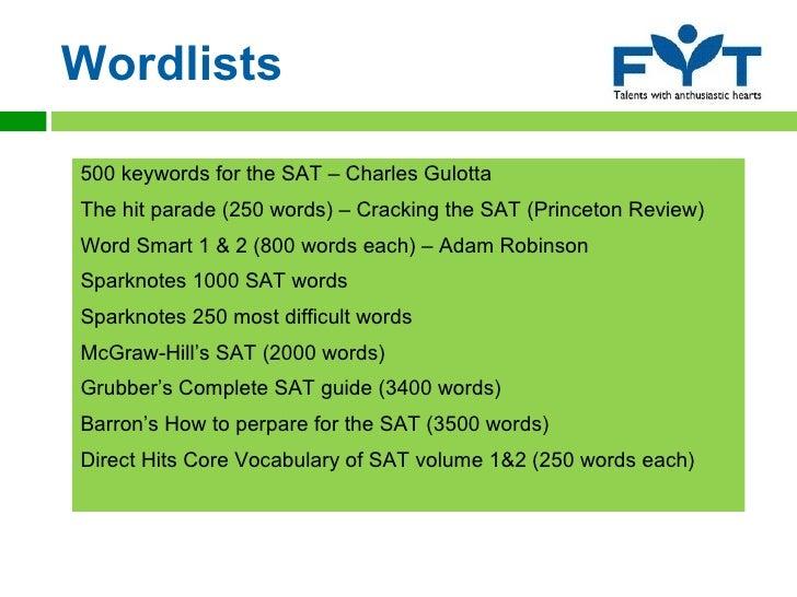 Sat direct vocab pdf hits