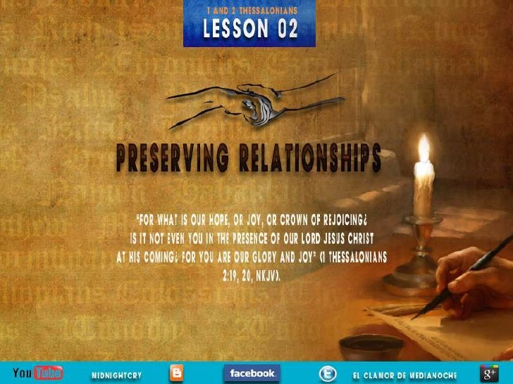 LESSON 02                                                          Sabbath Afternoon   P  aul held a three-week series of ...