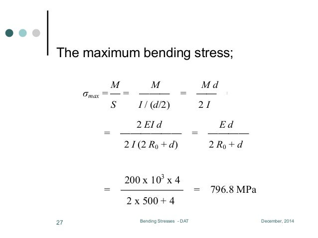 Lesson 05, bending and shearing stresses