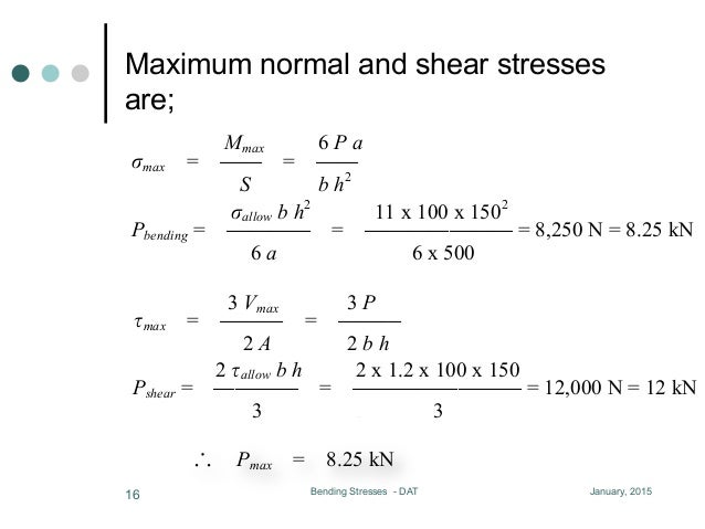 Lesson 06, shearing stresses (Updated)